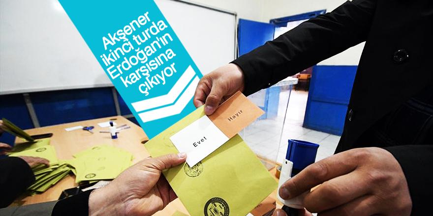 Gezici'den seçim anketi: Akşener, ikinci turda Erdoğan'ın karşısına çıkıyor