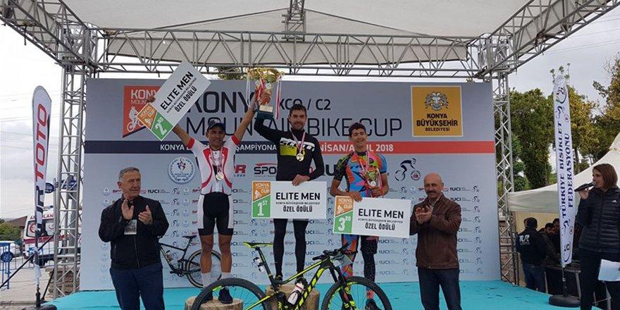 Dağ bisiklet yarışları Konya'da yapıldı