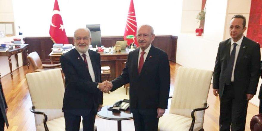 Temel Karamollaoğlu'ndan Kılıçdaroğlu'na tebrik ziyareti!