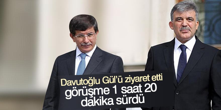 Abdullah Gül'e sürpriz ziyaret