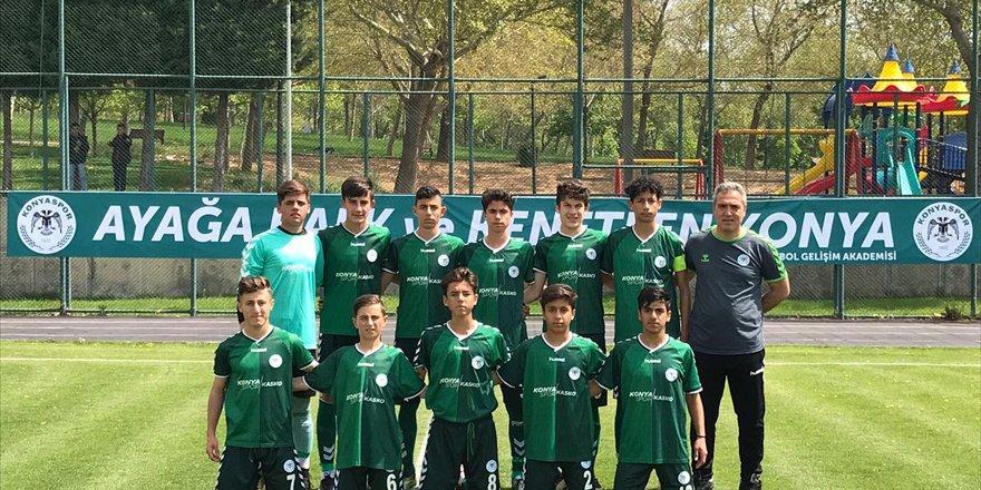 Konyaspor U14 namağlup şampiyon oldu