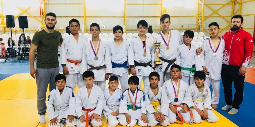 Selçuklu Belediyespor'dan judoda 7 madalya