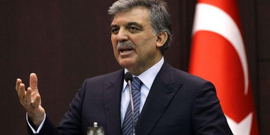 Abdullah Gül'ün seçim afişleri bile hazırlandı!