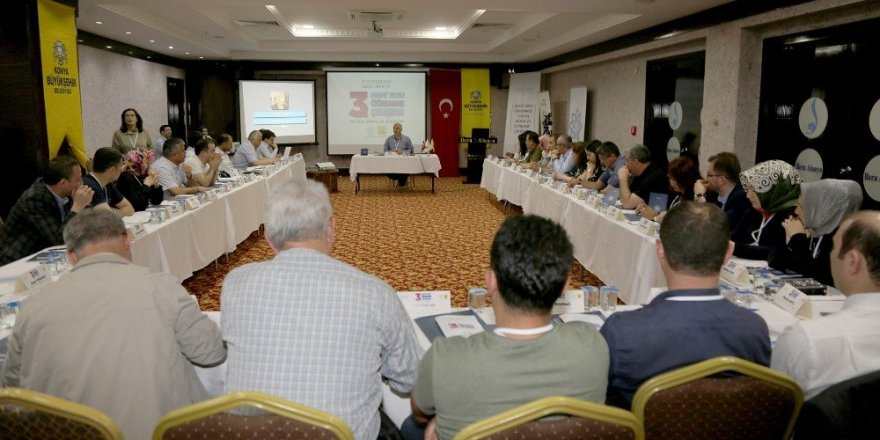 Konya'da 3. Hayat Boyu Öğrenme Çalıştayı yapıldı