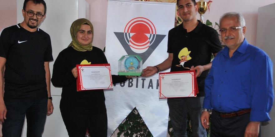 Zeki Özdemir'e psikoloji dalında birincilik ödülü