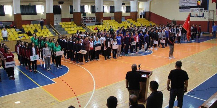 Okullar arası basketbol Türkiye şampiyonası başladı