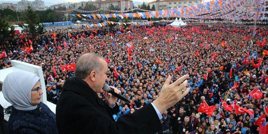Erdoğan 55 ilde miting yapacak
