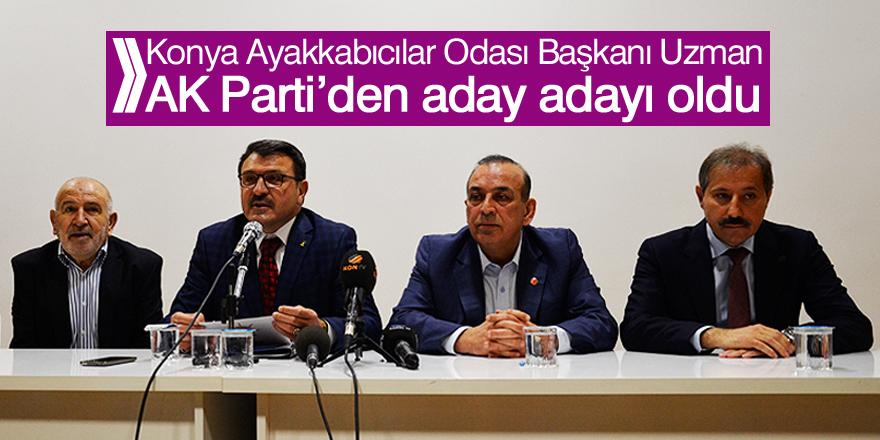 Uzman AK Parti'den aday adayı oldu
