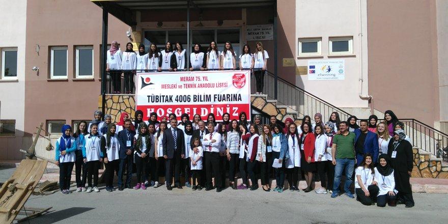 75.Yıl Lisesi öğrencilerinden bilim şenliği