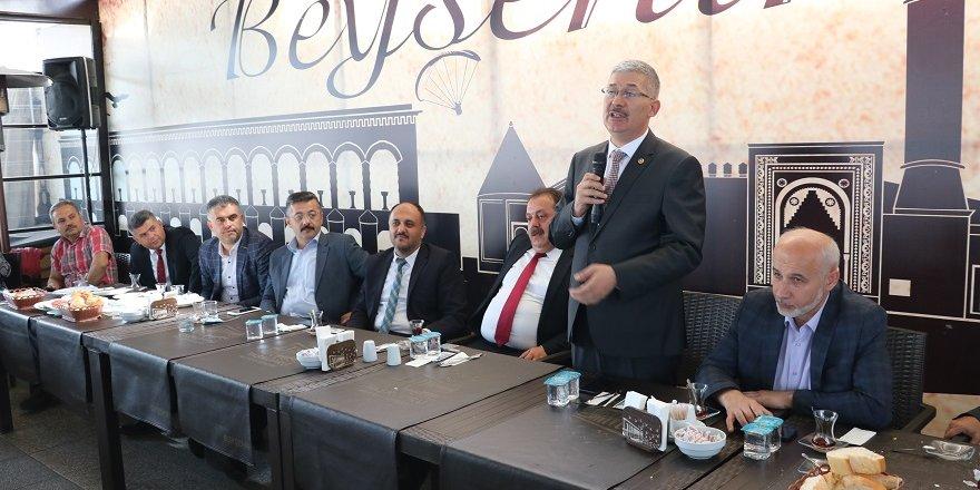 Milletvekili Babaoğlu Beyşehir'de