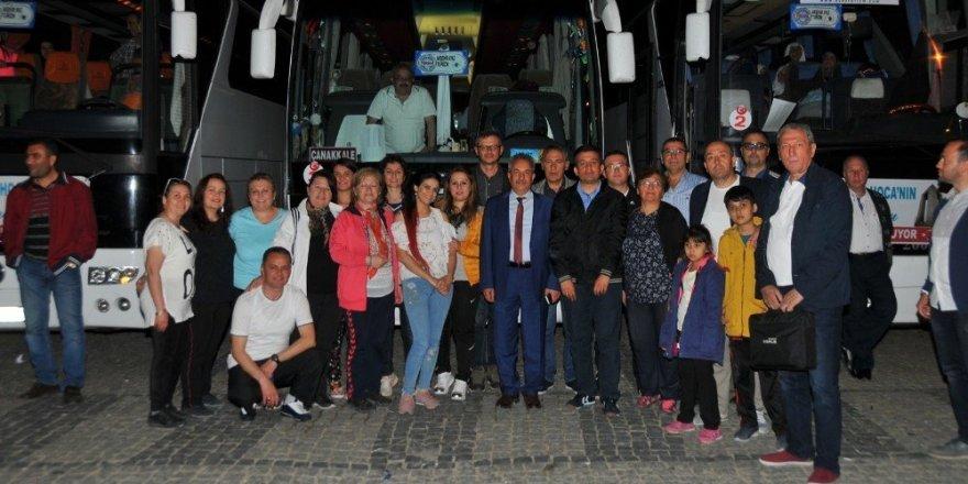 Akşehir Belediyesi Çanakkale gezilerini sürdürüyor