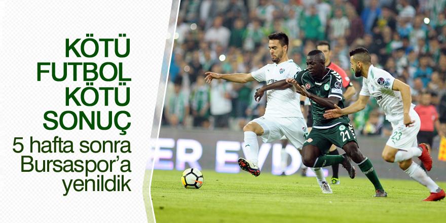 Bursaspor: 2 - Atiker Konyaspor: