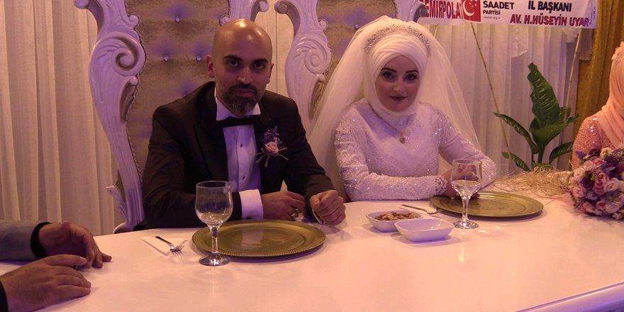 Esra ile H. İbrahim mutluluğa evet dedi