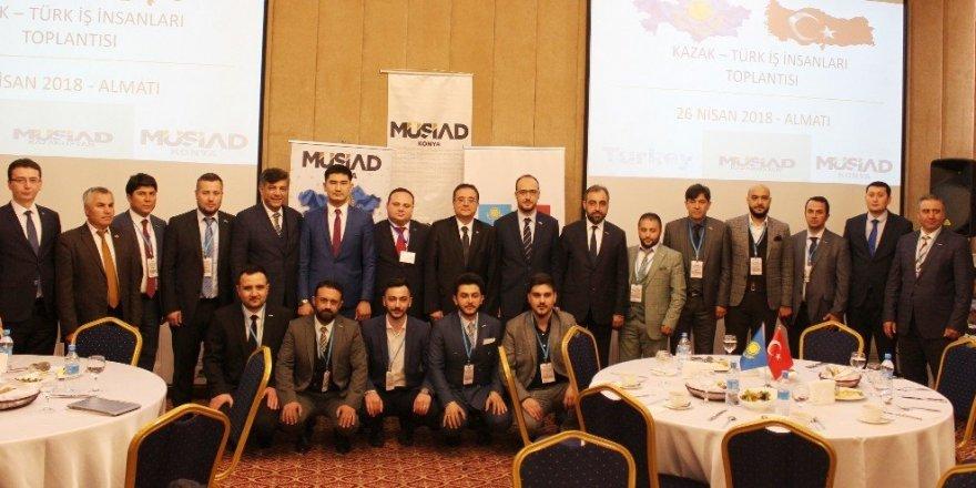 MÜSİAD Konya'dan Kazakistan'a çıkarma