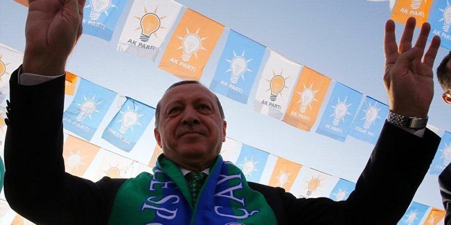 Erdoğan, 316 imzayla cumhurbaşkanı adayı