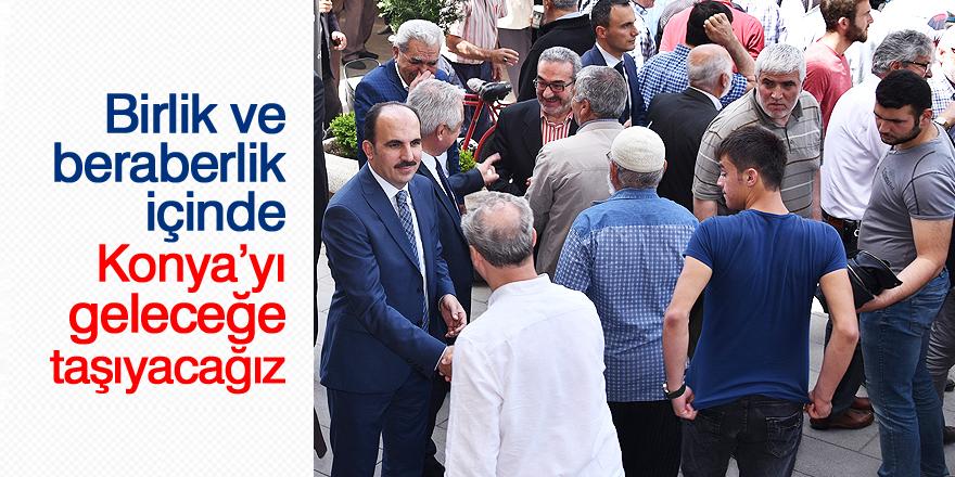Başkan Altay: Birlik ve beraberlik içinde Konya'yı geleceğe taşıyacağız