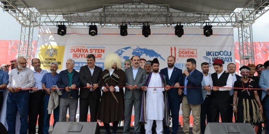 Konya'da 11. Uluslararası Öğrenci Buluşması başladı