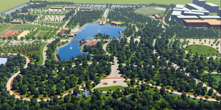 Konya, 650 bin metrekarelik dev bir bölge parkına kavuşuyor