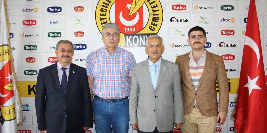 İYİ Parti aday adayları KGC'yi ziyaret etti