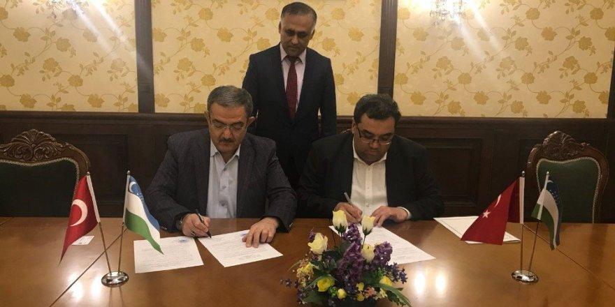 SÜ'den Özbekistan'da iş birliği protokolü