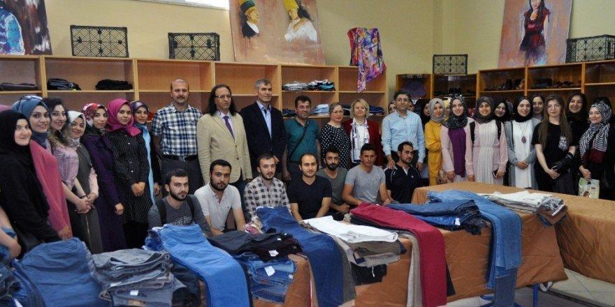 NEÜ'de ihtiyaç sahibi öğrenciler için 'Akef Butik' açıldı