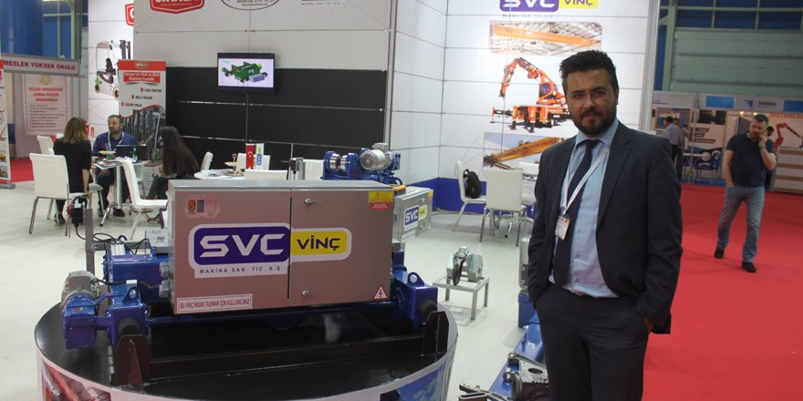 SVC Vinç'in yükselişi sürüyor