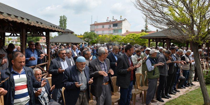 Çumra'da yağmur duası