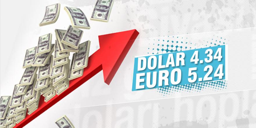 Dolar ve euro, güne yeni rekorlarla başladı