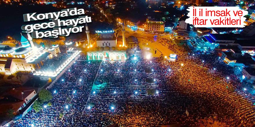Hayırlı Ramazanlar Türkiye! İl il imsak ve iftar vakitleri