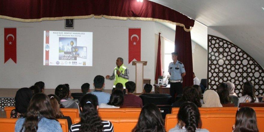 Kulu'da Trafik Haftası etkinlikleri