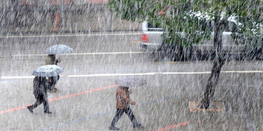 Konya için kuvvetli yağış uyarısı yapıldı
