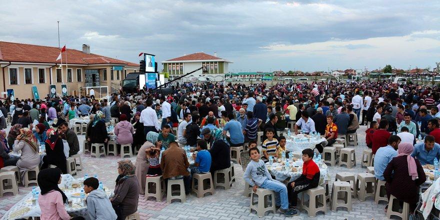 Meram'da iftar güzelliği