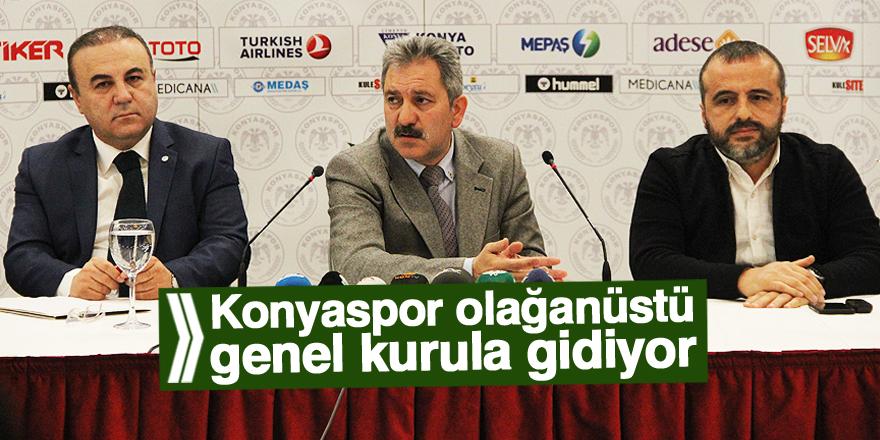 Konyaspor genel kurula gitme kararı aldı