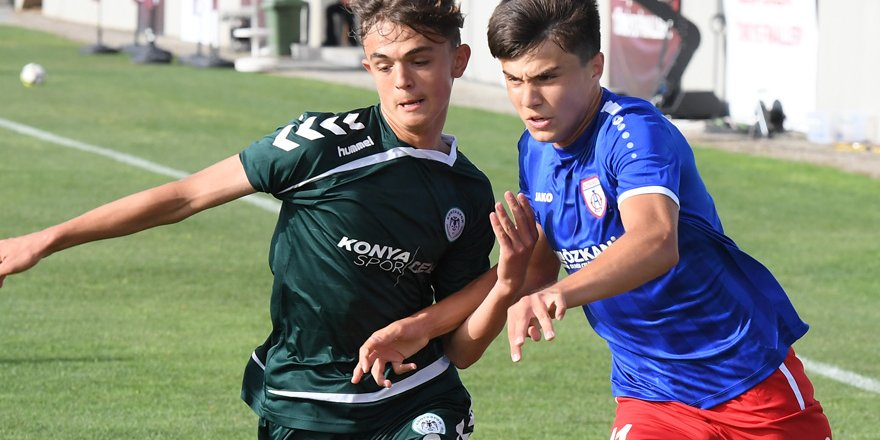 Konyaspor U15 final için Bursaspor ile karşılaşacak