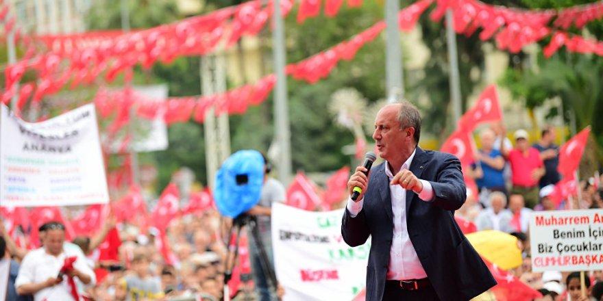 İnce'den Erdoğan'a ekonomi çağrısı: Danışmanlarınızı gözden geçirin
