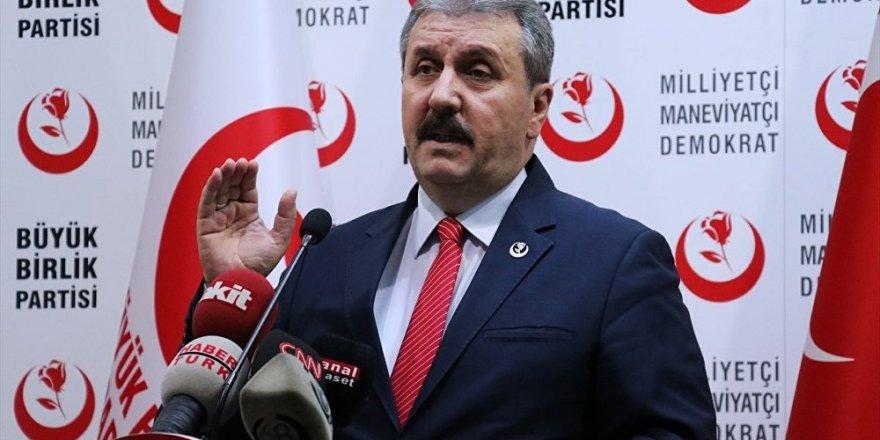 Destici, BBP seçmenlerini uyardı: Oyumuz AK Parti pusulasına