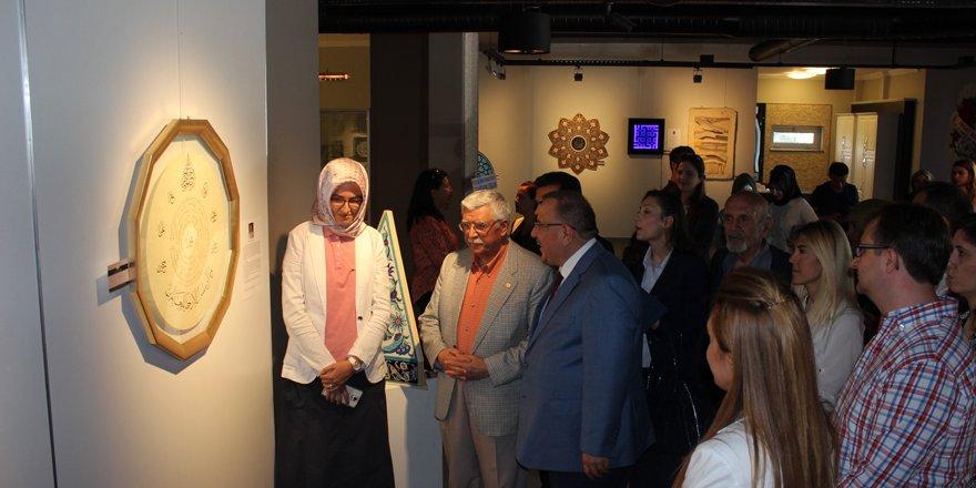 Geleneksel Türk sanatları sergide