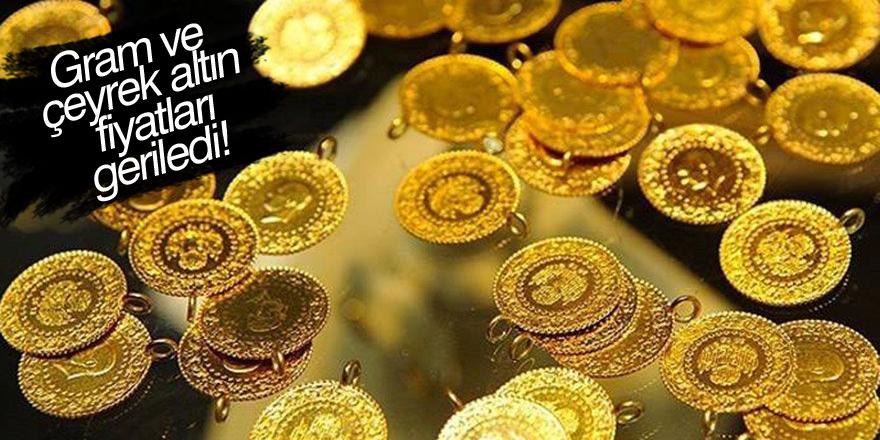 Gram altın ve çeyrek altın fiyatları geriledi!