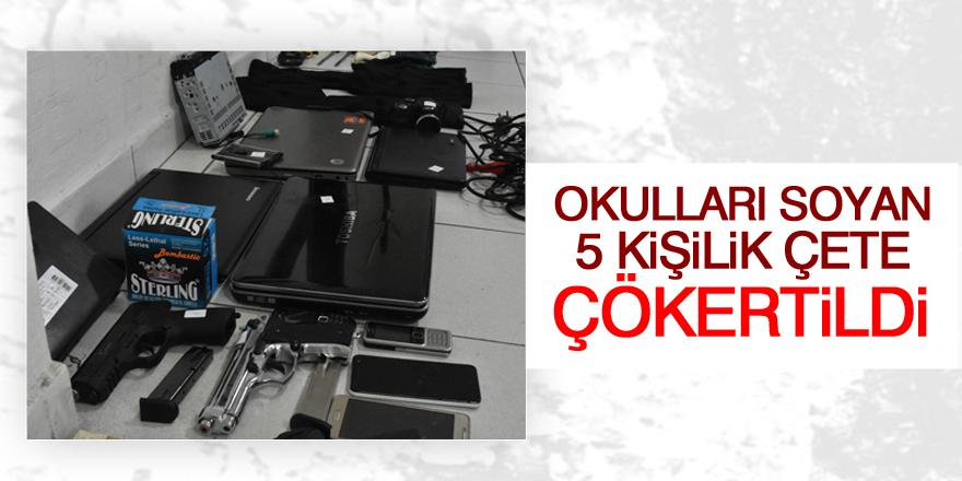 Konya'da okullardan hırsızlık