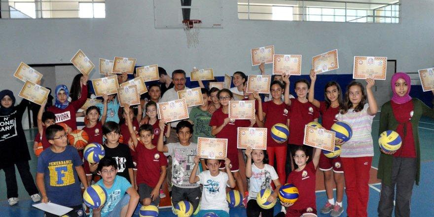 Ereğli'de spor kompleksi açıldı