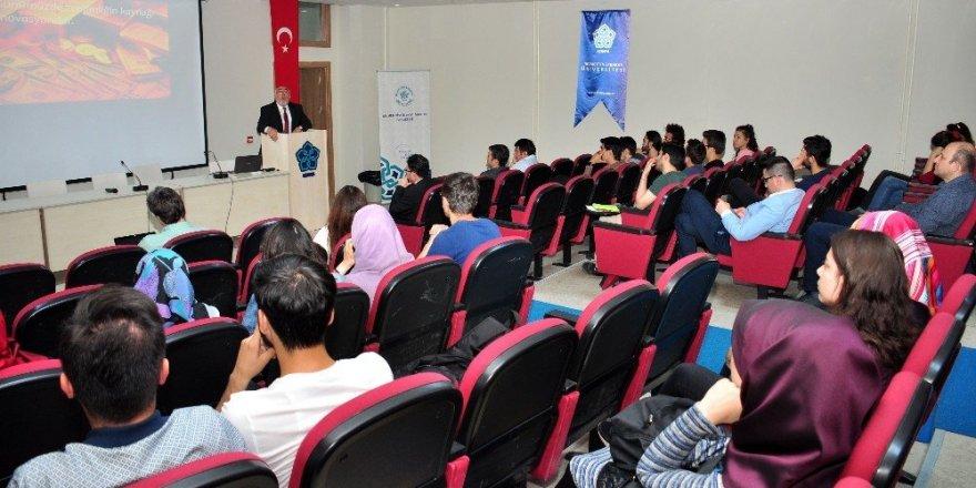 NEÜ'de 1. Bilişim Teknolojileri İş Fikri Çalıştayı yapıldı
