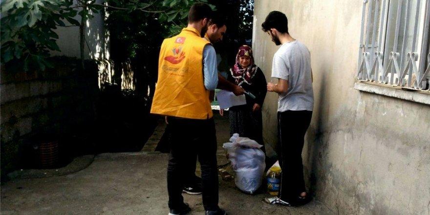 İyilik-Der'den 220 aileye yardım
