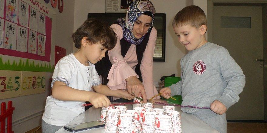Özel Gençlik Anaokulu öğrencileri ilkokula hazır