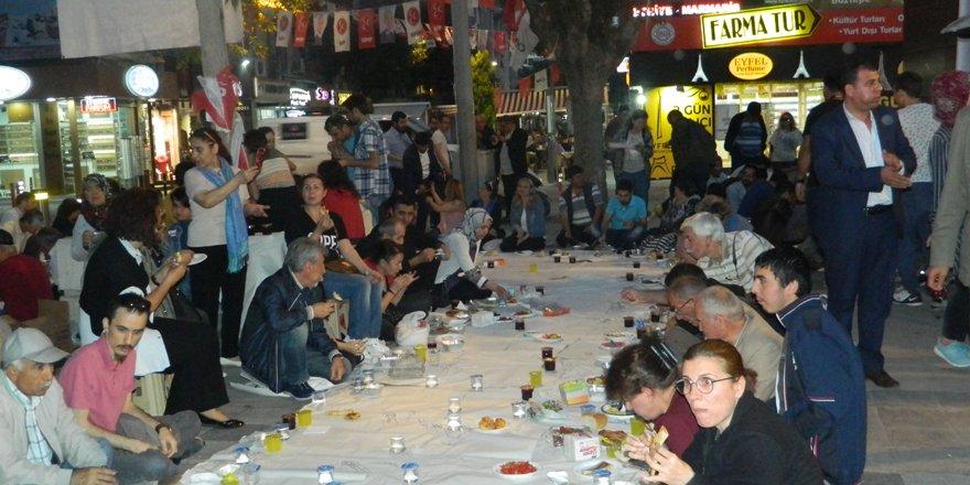 CHP'den  Gedavet'te 'Yeryüzü Sofrası' iftarı