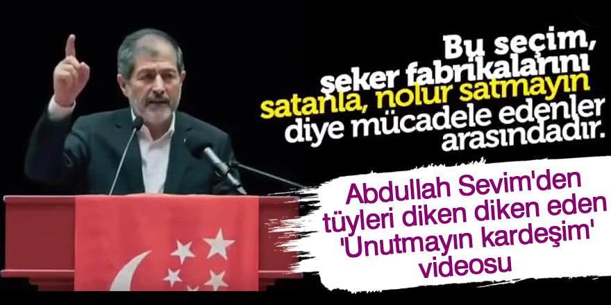 Saadet Partisi'nden dikkat çeken video