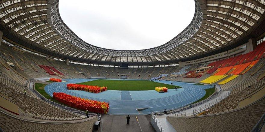 2018 FIFA Dünya Kupası'nda ilk maç Rusya ve Suudi Arabistan arasında