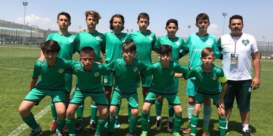 Konyaspor U13 şampiyon oldu