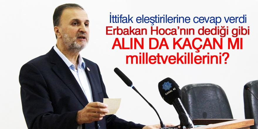 """Mustafa Özkafa: """"Alın da kaçan mı milletvekillerini?"""""""