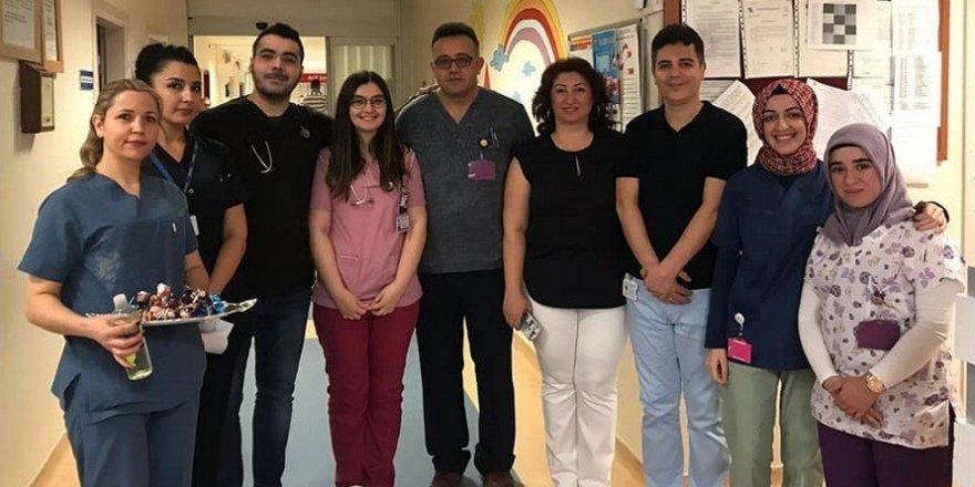 ESOGÜ Hastanesi bayramda hastalarını ve personelini yalnız bırakmadı