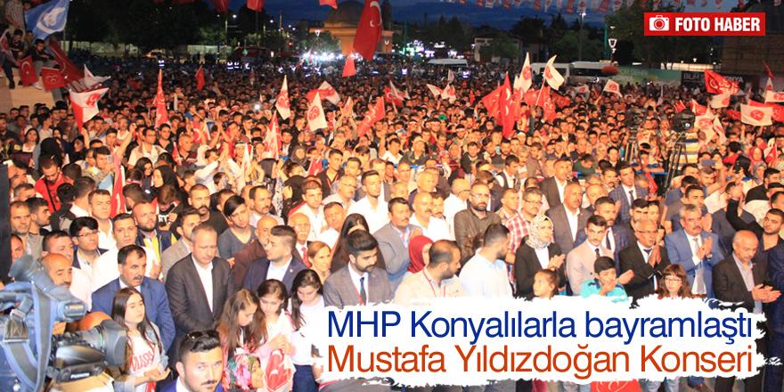 MHP Konyalılarla bayramlaştı